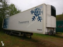 used Samro multi temperature refrigerated semi-trailer