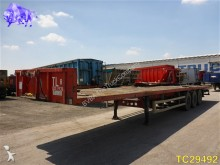 used Desot flatbed semi-trailer
