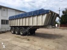 used Leciñena construction dump semi-trailer