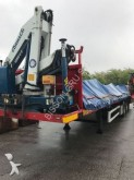 used Viberti dropside flatbed semi-trailer