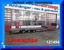 Moeslein 3 Achs Satteltieflader Plato für Fertigteile, Ba semi-trailer