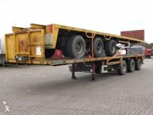 used Floor flatbed semi-trailer