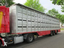 used Cuppers livestock semi-trailer