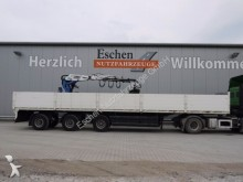 used Dinkel flatbed semi-trailer