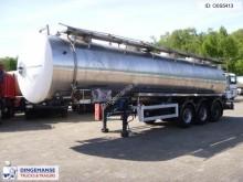 Magyar Chemical tank inox 30 m3 / 1 comp semi-trailer