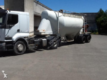 used Merceron powder tanker semi-trailer