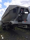 used Krone construction dump semi-trailer