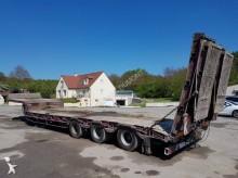 used Verem heavy equipment transport semi-trailer
