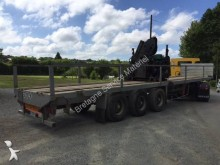 used Kaiser flatbed semi-trailer