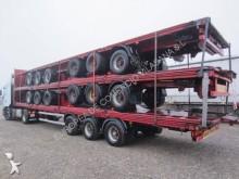 used Lecitrailer flatbed semi-trailer