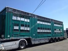 Pezzaioli 2 étages - 3 compartiments semi-trailer