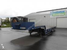 Castera expandable low loader - full steel semi-trailer