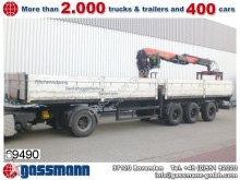 used Schmidt heavy equipment transport semi-trailer