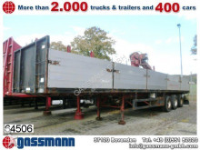 used Pacton dropside flatbed semi-trailer