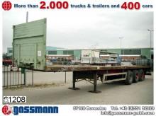 used Krone heavy equipment transport semi-trailer