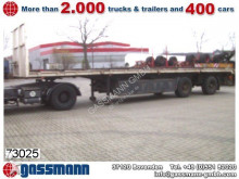 used Hendricks heavy equipment transport semi-trailer