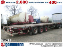 used Schmitz Cargobull heavy equipment transport semi-trailer