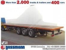 used Schmitz Cargobull dropside flatbed semi-trailer