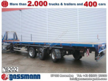 used Schmidt dropside flatbed semi-trailer