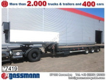used Schwarzmüller heavy equipment transport semi-trailer