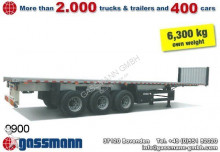 new Schmitz Cargobull dropside flatbed semi-trailer