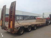 used Gilibert heavy equipment transport semi-trailer