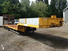 used General Trailers heavy equipment transport semi-trailer