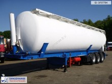 Feldbinder Bulk tank alu (tipping) 60 m3 + engine semi-trailer