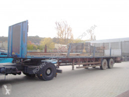 used Ackermann flatbed semi-trailer
