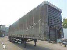 used Merker tautliner semi-trailer