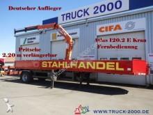 used Müller-Mitteltal flatbed semi-trailer