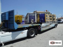 used Leciñena heavy equipment transport semi-trailer