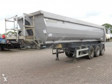 Meiller 27 CUBE FULL STEEL LIFT AXLE semi-trailer