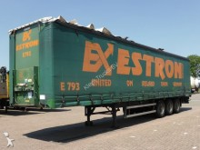 damaged Groenewegen tautliner semi-trailer
