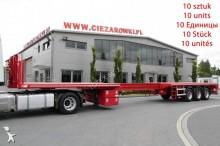used HRD heavy equipment transport semi-trailer