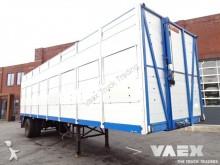 used Floor livestock semi-trailer