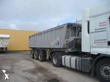 used Stas construction dump semi-trailer