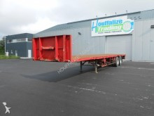 used Fruehauf flatbed semi-trailer
