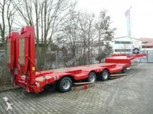 Moeslein Satteltieflader mit Radmulden semi-trailer