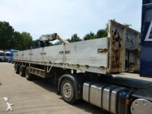 used Kennis flatbed semi-trailer