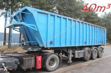 Stas 40m³ ALU / ALU - SAF - DISC - LIFT-AXLE - NICE C semi-trailer
