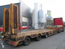 used GS Meppel heavy equipment transport semi-trailer