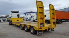 used Fruehauf heavy equipment transport semi-trailer
