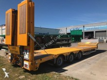 new Nooteboom heavy equipment transport semi-trailer