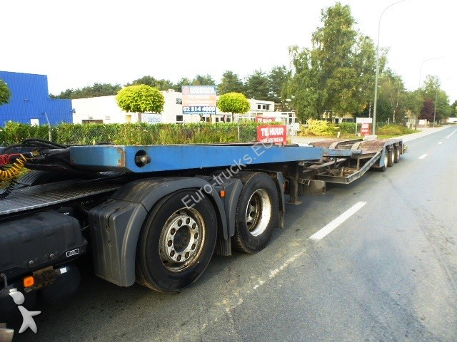 Semi remorque nc porte voitures obs s345 136l trucktransporter 3 essieux occasion n 765614 - Remorque porte voiture 3 essieux ...