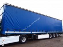 used Lecitrailer dropside flatbed tarp semi-trailer