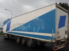 semirimorchio furgone plywood / polyfond incidentato