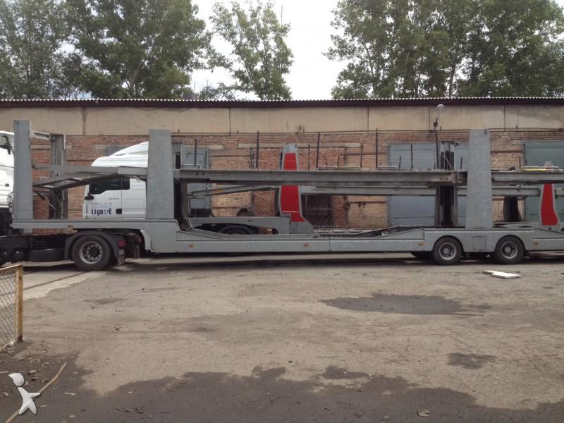 Semi remorque lohr porte voitures s2m52x 2 essieux - Semi remorque porte voiture occasion ...