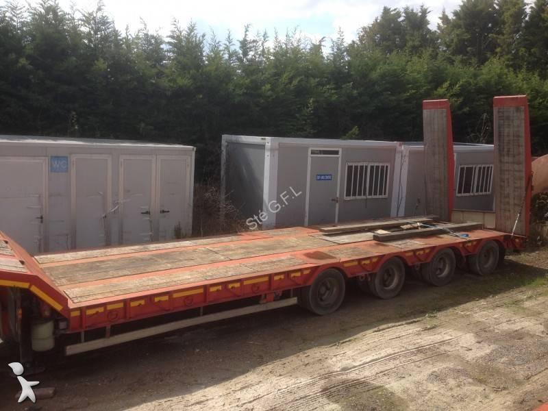 Porte engin 4 essieux occasion tracteur agricole - Remorque porte engin agricole occasion ...