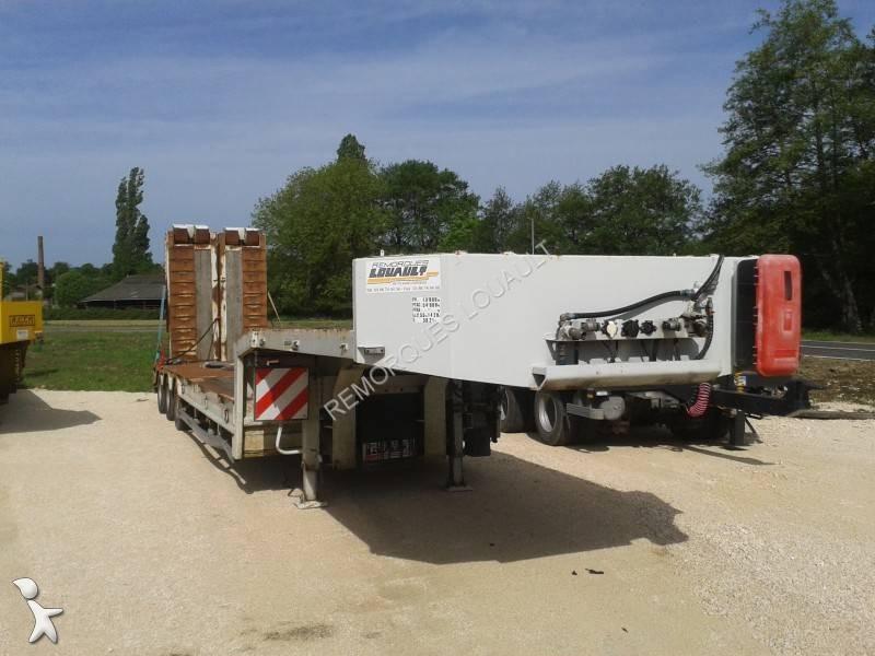 semi remorque louault porte engins 3 essieux occasion n 176 1790971